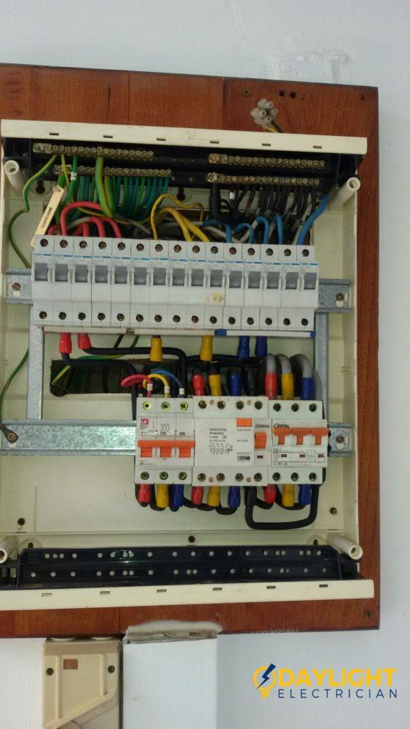 Db Box Change Mcb 63a Main Circuit Breaker Electrician