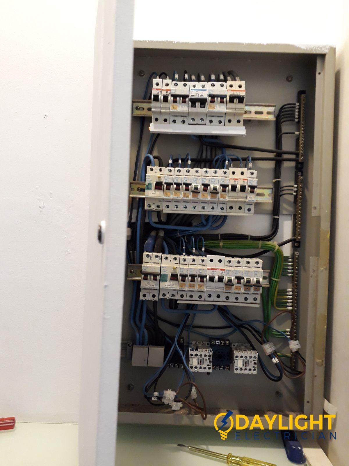 Distribution board DB box repair change all MCB condo Electrician ...