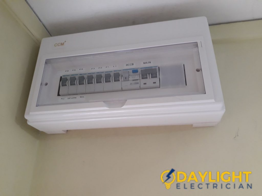 Db Box Distribution Board Replacement Electrician Singapore Hdb Telephone Wiring