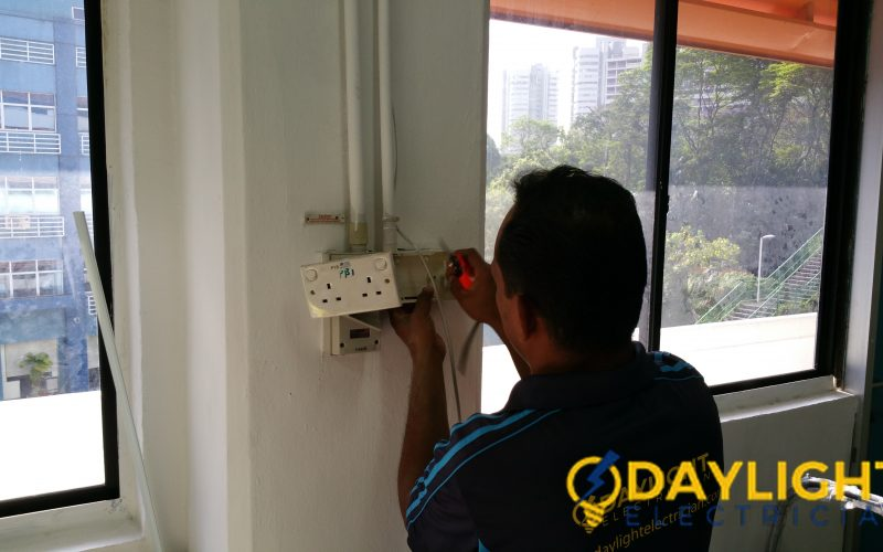 Office-Power-Point-Installation-Electrician-Singapore-Commercial-Bukit-Merah-8