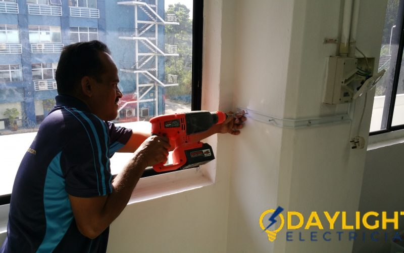 Office-Power-Point-Installation-Electrician-Singapore-Commercial-Bukit-Merah-9