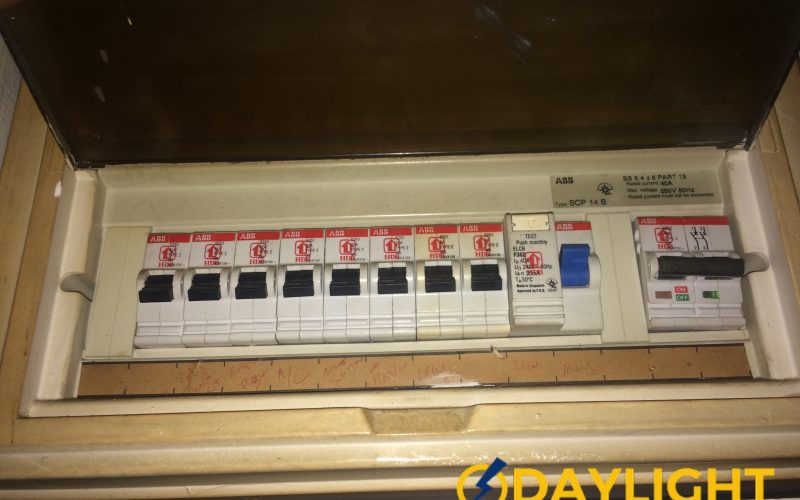 Distribution Board Db Box Switch Replacement Electrician Singapore Hdb Telok Blangah
