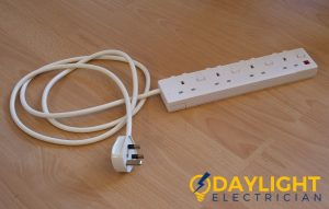 electric trip extension plug daylight electrician singapore