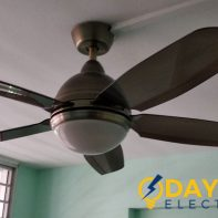 install ceiling fan daylight electrician HDB Tampines wm