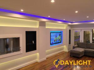 led light installation daylight electrician singapore