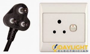 type d electrical outlet power plug daylight electrician singapore