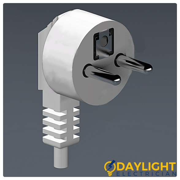 Type E Electrical Outlet Power Plug Daylight Electrician