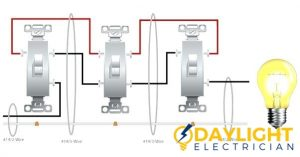 4-Way Light Switch daylight electrician singapore
