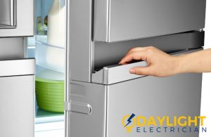fridge door electric power trip daylight electrician singapore