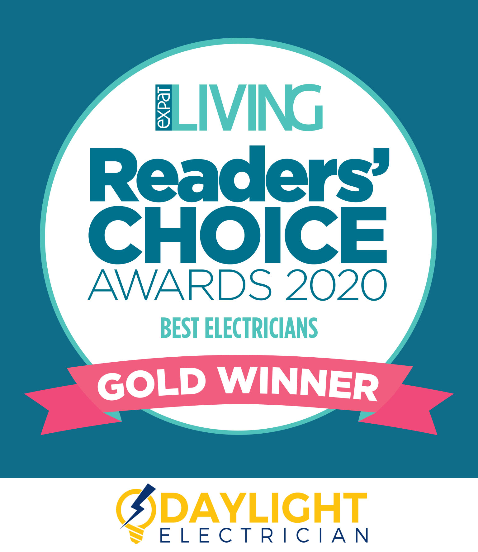 daylight electrician readers choice awards 2019 expat living singapore stamp 1