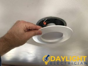 replacing-recessed-light-led-light-installation-trip-daylight-electrician-singapore
