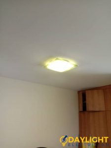 yellow-ceiling-light-installation-daylight-electrician-singapore