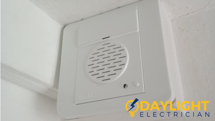 white-doorbell-installation-cost-doorbell-installation-daylight-electrician-singapore